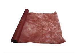 """Dekostoff """"Vlies"""" gerollt und geschnitten - 36cm x 300cm Farbe: rot"""