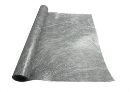 """Dekostoff """"Vlies"""" gerollt und geschnitten - 36cm x 300cm Farbe: Silber"""