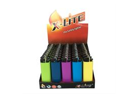 Feuerzeug Mechanisch X-Lite MAXI UNI 5 ass.