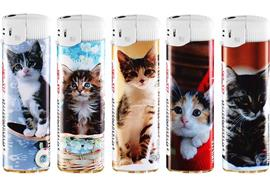 Feuerzeug U-8611 Design Innocent Cats