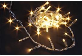 LED Lichterkette 50 LED - warm weisses Licht L: 245cm - mit Timerfunktion