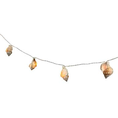 "LED Lichterkette Maritim ""Muschel"" 10 LED L: 165cm"