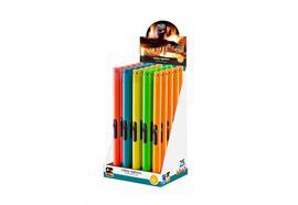 Stabfeuerzeug TOM BB-333 assortiert 5 Farben Kunststoff