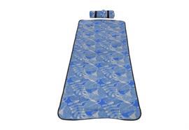 Strandmatte gepolstert 60x180cm blau