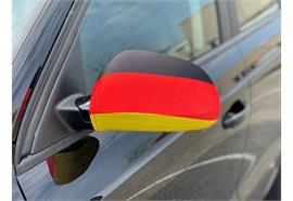 Überzug für Rückspiegel - Deutschland  22x14cm / 1 Paar  Material: Elastische Gewebe