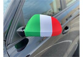 Überzug für Rückspiegel - Italien  22x14cm / 1 Paar  Material: Elastische Gewebe