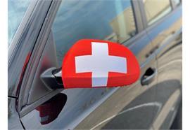 Überzug für Rückspiegel - Schweiz 22x14cm / 1 Paar