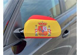Überzug für Rückspiegel - Spanien  22x14cm / 1 Paar  Material: Elastische Gewebe