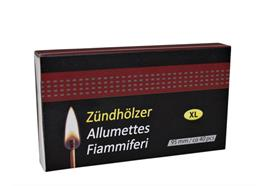 Zündhölzer Unilite Safety Matches 10 cm. Grillanzünder